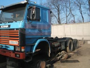 Продам седельный тягач Scania на запчасти