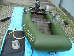 Надувная лодка с жестким дном Фрегат м290