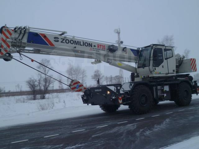 Zoomlion. Автокран самоходный RT-35, 35 000кг.