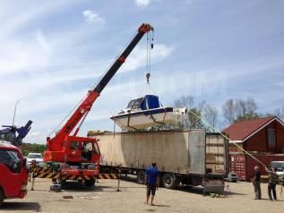 Доставка катеров из Владивостока по России