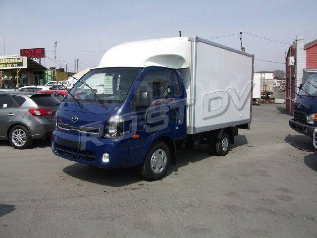 Kia Bongo. 3 Фургон, Новый, 2 500куб. см., 1 200кг., 4x2