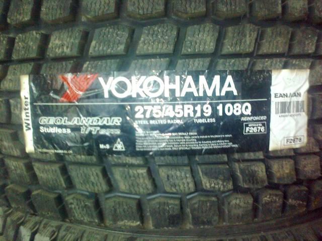 Yokohama Geolandar I/T G072, 275/45 R19