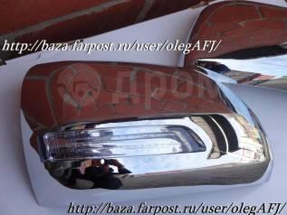 Крышки зеркал рестайл стиль для Toyota Land Cruiser 200 / LX570