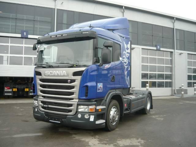 Scania. G400, 13 000куб. см., 25 000кг., 4x2