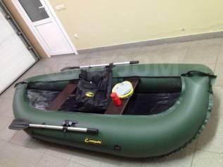 Гребная надувная ПВХ 260 лодка Компакт-Лидер