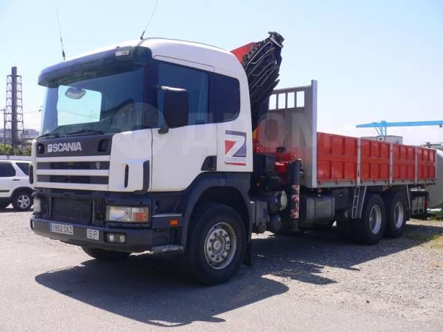 "Scania. Грузовик "" 94C 300"" 2003 г. вып., с манипулятором, без пробега., 9 000куб. см., 26 000кг., 6x4"