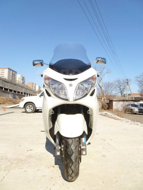 Suzuki Burgman. 400куб. см., исправен, птс, без пробега
