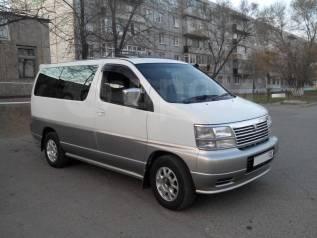 Прокат микроавтобуса Nissan Elgrand