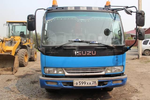 Isuzu Forward. Продам бортовой грузовик с манипулятором, 6 000кг.