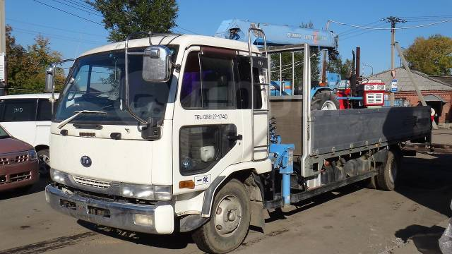 Nissan Diesel Condor. Грузовик с манипулятором Nissan diesel в Иркутске, 6 900куб. см., 5 000кг., 4x2. Под заказ