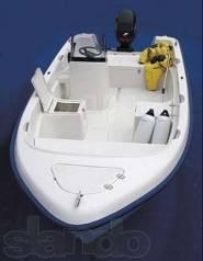 Лодка моторная стеклопластиковая, моторный пластиковый катер