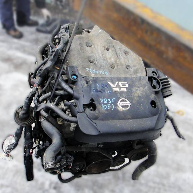Двигатель в сборе. Nissan: Teana, Maxima, Presage, Elgrand, Altima, Murano, Caravan, Skyline, 350Z, Fairlady Z, Pathfinder, Homy, Quest Infiniti G35 I...