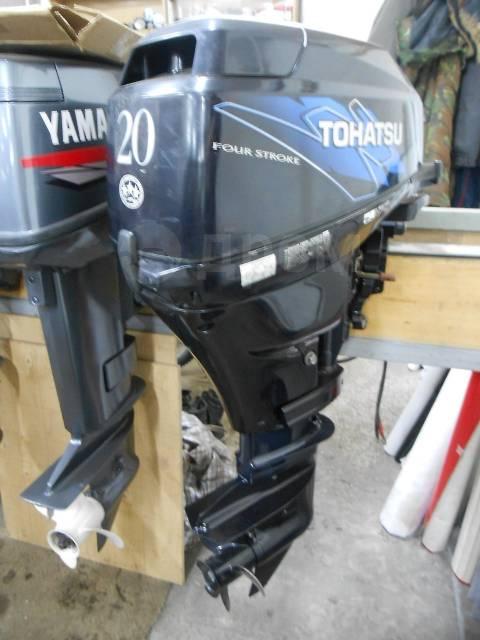 Tohatsu. 20,00л.с., 4-тактный, бензиновый, нога S (381 мм), 2012 год