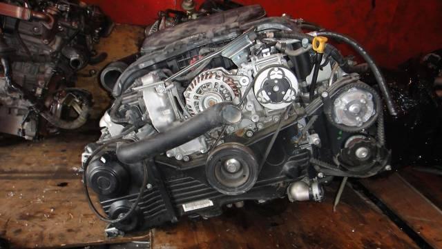Двигатель в сборе. Subaru Forester, SG5 Subaru Legacy, BL5 Subaru Impreza Subaru Outback EJ204