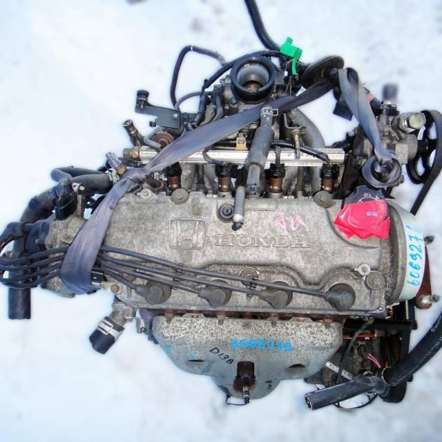 Двигатель в сборе. Honda Logo Honda Civic Honda Capa D13B, D13B7, D13B1, D13B2, D13B3