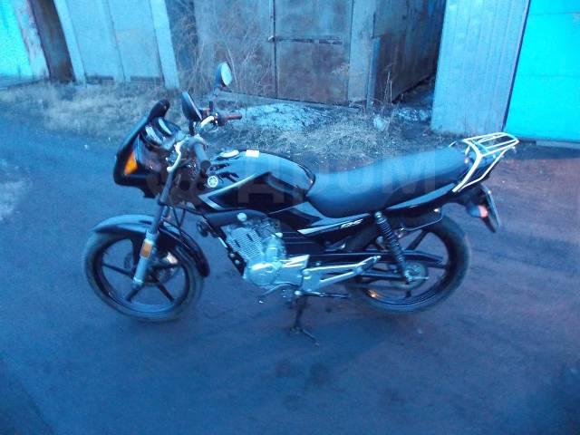 Yamaha YBR 125. 124куб. см., исправен, птс, без пробега