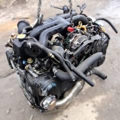 Контрактный б/у двигатель EJ20X на Subaru