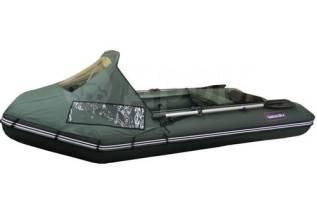 Скидка 20%! Лодка ПВХ Хантер 290Л Комфорт (зеленая)