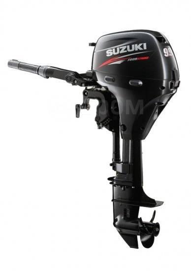 Suzuki. 9,90л.с., 4-тактный, бензиновый, нога S (381 мм), 2015 год