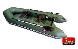 Скидка 15%. Лодка ПВХ Хантер 320ЛН (зеленый)