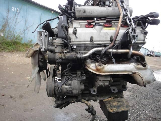 Двигатель в сборе. Isuzu Bighorn Isuzu VehiCross, UGS25DW 6VD1