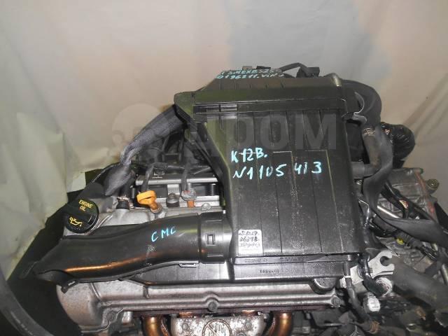 Двигатель в сборе. Suzuki Splash Suzuki Swift Suzuki Solio K12B