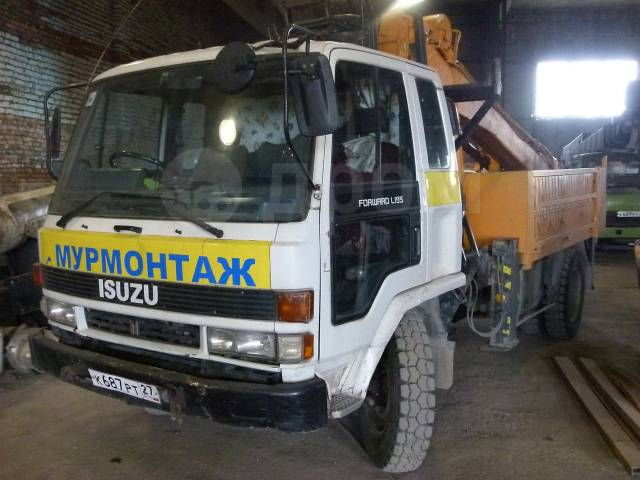 Буровая Isuzu Forward. 7 200 куб. см.