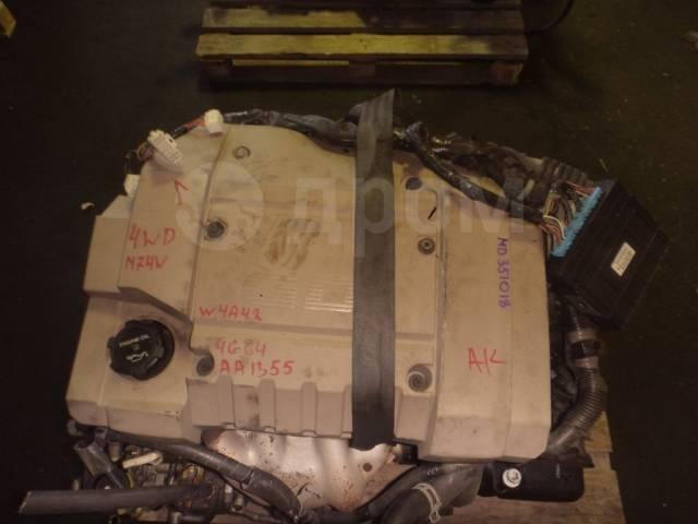 Двигатель в сборе. Mitsubishi: RVR, Legnum, Galant, Chariot, Chariot Grandis 4G64, 4G64GDI