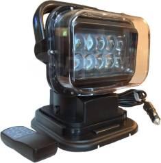 Фара-искатель светодиодный 50W с радиоуправлением