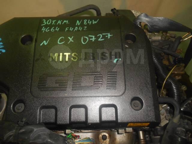 Двигатель в сборе. Mitsubishi: RVR, Legnum, Galant, Chariot, Chariot Grandis 4G64