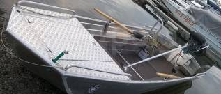 Алюминиевая Лодка RusBoat-52V Jon JET (Русбот), новый