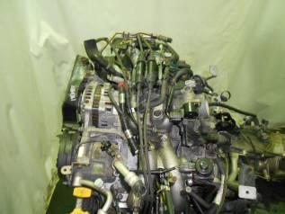Контрактный б/у двигатель + кпп EJ202 на Subaru
