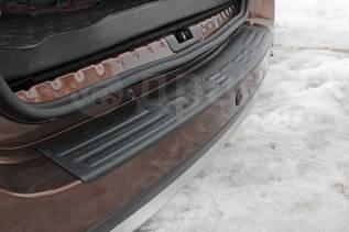 Накладка на задний бампер Renault Duster 2010-2014 год