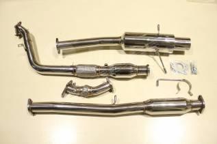 """Выхлопная система Subaru WRX 76мм / 3"""" + UP-pipe"""