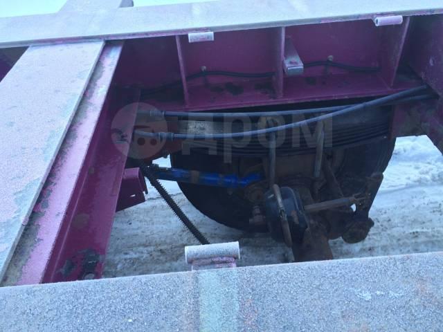 ЧМЗАП 9911. Полуприцеп контейнеровоз Чмзап 9911, 34 300кг.