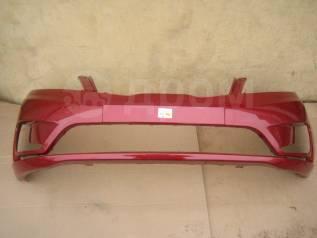 KIA RIO III 12- Бампер передний окрашенный красный TDY (865114Y000)
