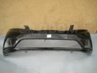 KIA RIO 4 12- Бампер передний окрашенный черный MZH