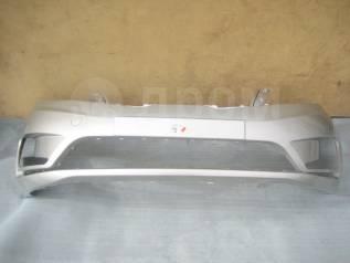KIA RIO III 12- Бампер передний окрашенный серебристый RHM