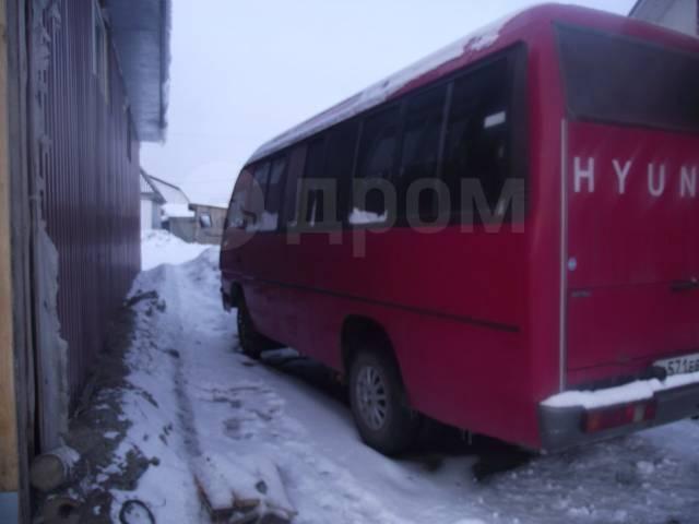 Hyundai Chorus. Обменяю или продам автобус Хундай Чорус, 18 мест