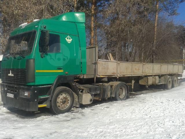 МАЗ 5440. Продается седельный-тягач МАЗ-5440, 14 000куб. см., 12 000кг., 4x2