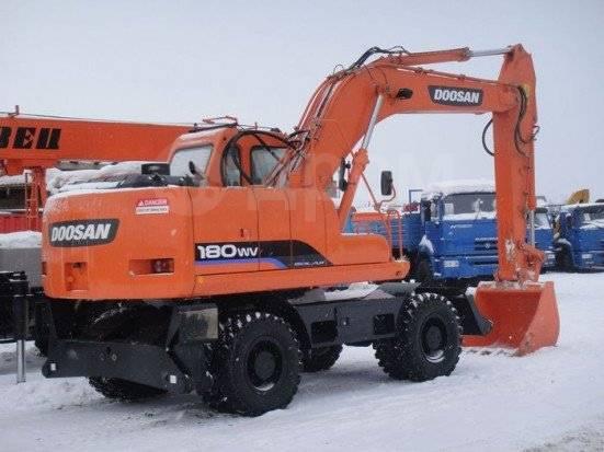 Doosan S180 W-V. Продам Экскаватор Doosan S180W-V (Колесный), 0,93куб. м.