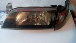 Фара  Тойота Королла AE100 черный хрусталь комплект