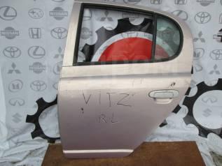 Задняя левая дверь Toyota Vitz scp10 2000г