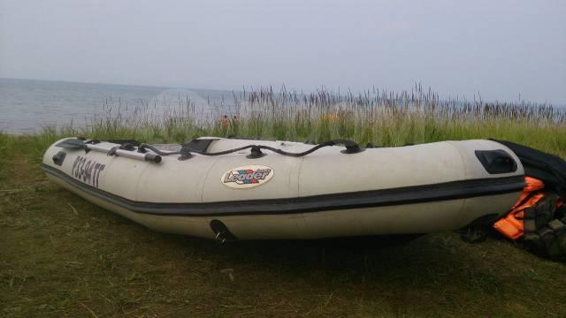 Лидер-360. 2006 год, двигатель подвесной, бензин