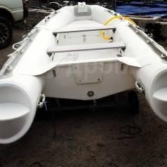 Корейская лодка Mercury Риб360, стеклопластиковое дно, гр-я 5лет
