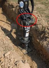 Переходная плита под гидромолот для мини-экскаватора.