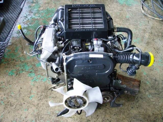 Двигатель в сборе. Mitsubishi: Toppo BJ, Pajero Mini, Minica, Minica Toppo, Bravo 4A30