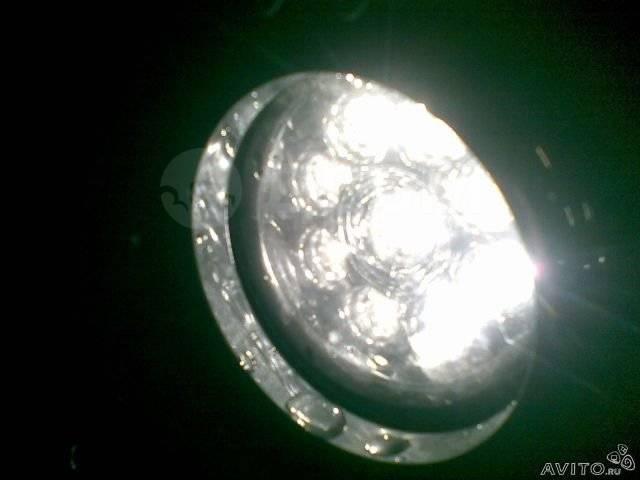 LED диодные противотуманнные фары
