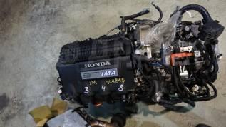 Двигатель в сборе. Honda Fit LDA