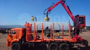 Гидроманипулятор Loglift-105ST с кабиной  для погрузки леса и металла
